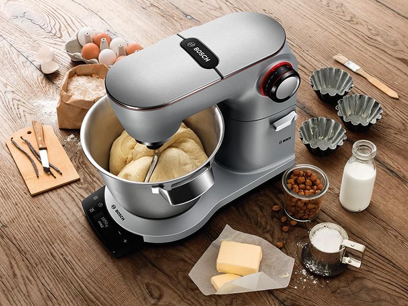 Haushaltsgeräte IFA 2016: Bosch-Küchenmaschine mit integrierter Waage - Zubereitung von Hefeteig - News, Bild 1