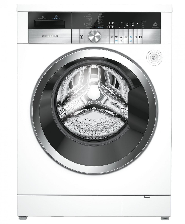 Waschmaschine und Trockner von Grundig - Knitterschutz-Funktion und ...