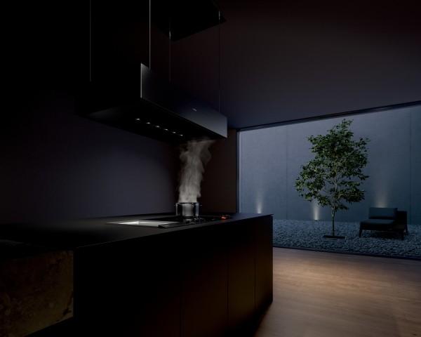 Haushaltsgeräte Deckenlüfter-Trio von Gaggenau - Integriert oder mit Liftfunktion - News, Bild 1