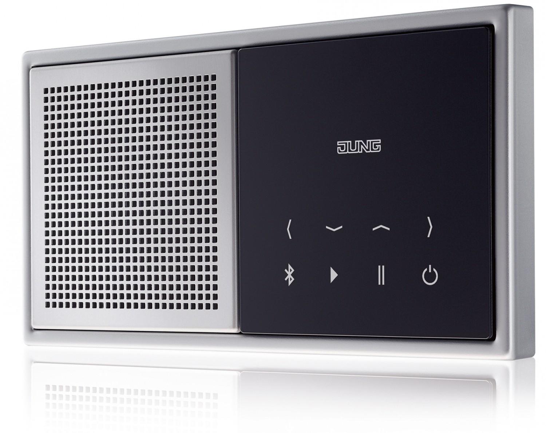 Haussteuerung In Küche, Wohn  Und Esszimmer: Dezente Wandschalter Streamen  Musik Per Bluetooth