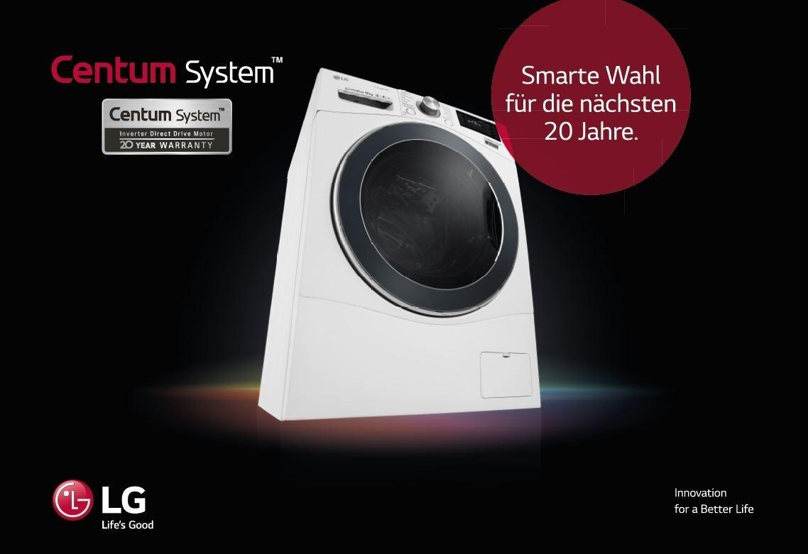 20 jahre garantie auf den motor lg waschmaschine mit innovativem aufh ngungs und. Black Bedroom Furniture Sets. Home Design Ideas