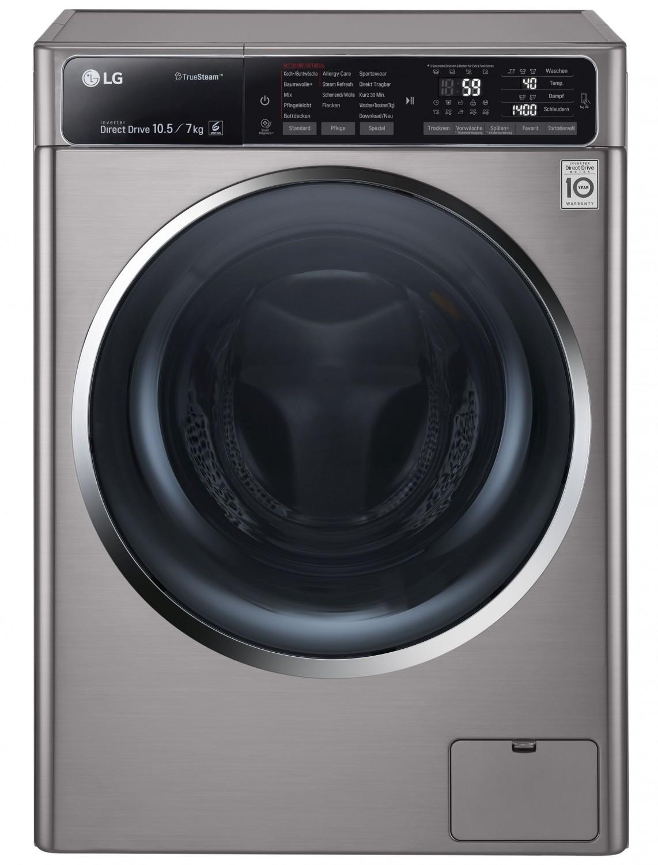 lg waschtrockner sparen wasser und zeit gr ndliche reinigung per dampf. Black Bedroom Furniture Sets. Home Design Ideas
