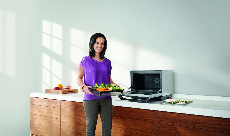 Haushaltsgeräte Mehr als eine Mikrowelle: Dampfgarer, Grill und Ofen im Küchen-Allrounder von Panasonic - News, Bild 2