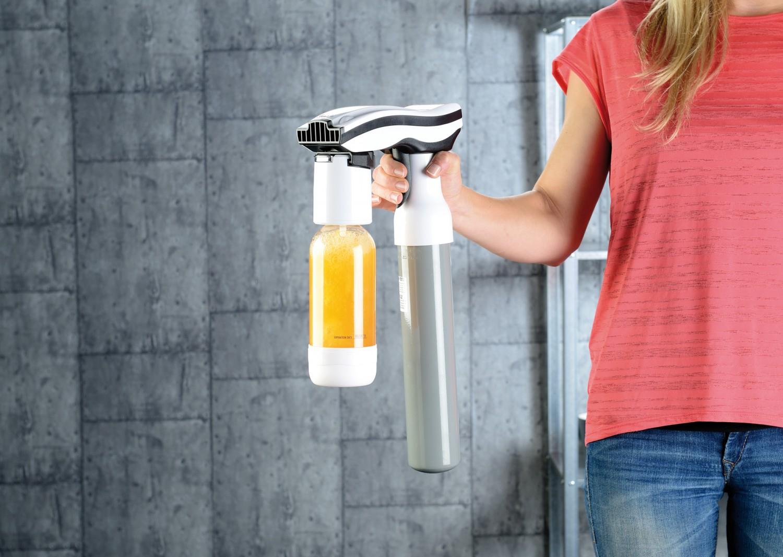Haushaltsgeräte Auch für Saft und Tee: Neuer Getränke-Sprudler von Rosenstein & Söhne - News, Bild 1