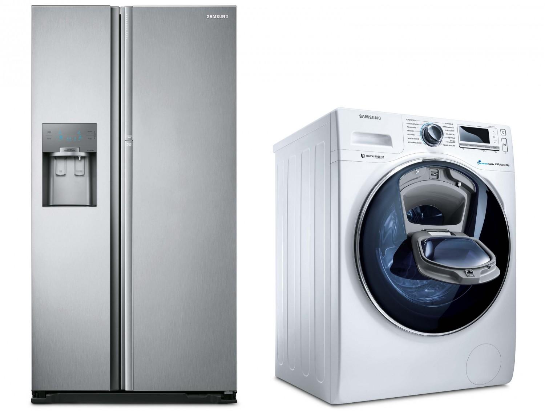 auf k hlschr nke und waschmaschinen samsung erstattet bis zu 100 euro zur ck bild 1. Black Bedroom Furniture Sets. Home Design Ideas