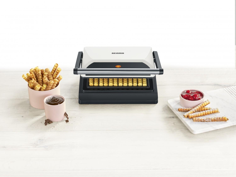 Haushaltsgeräte Kreative Snacks selbermachen mit dem neuen Waffelpommes-Maker von Severin - News, Bild 1