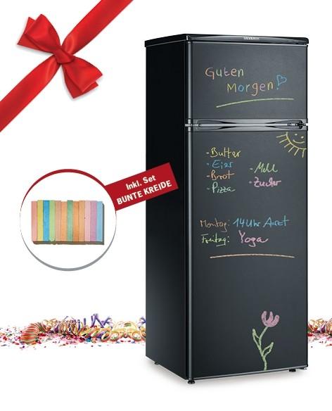 Haushaltsgroßgeräte Notizen auf dem Kühlschrank: Severin-Modell mit Tafel-Oberfläche - News, Bild 1