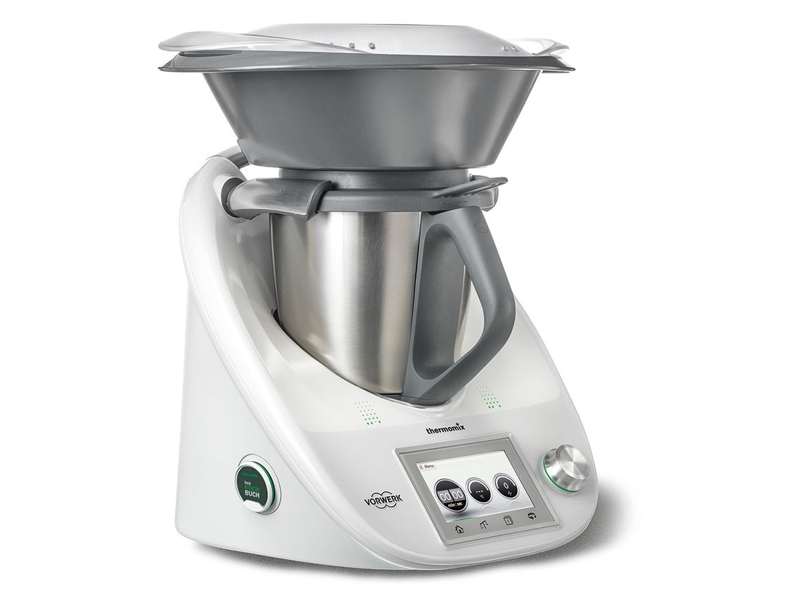 Universelle Küchenmaschine Thermomix kocht digital: Touchscreen und ...
