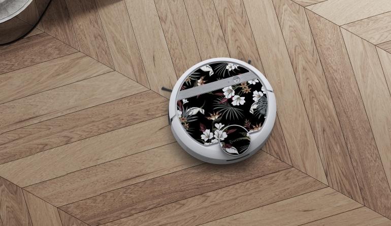 Haushaltsgeräte Personalisierbare Designfolien für Staubsauger-Roboter von Ecovacs Robotics - News, Bild 1
