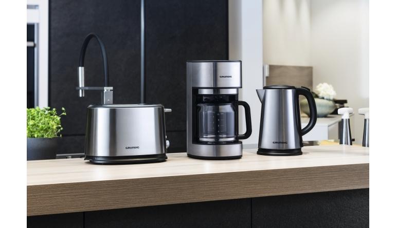 Haushaltsgeräte Edelstahl oder schwarzer Kunststoff: Neue Frühstücksserien von Grundig - News, Bild 1