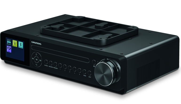 Haushaltsgeräte Küchenradios von Grundig zum Einbau mit Timer, CD, DAB+ und Internetradio - News, Bild 1