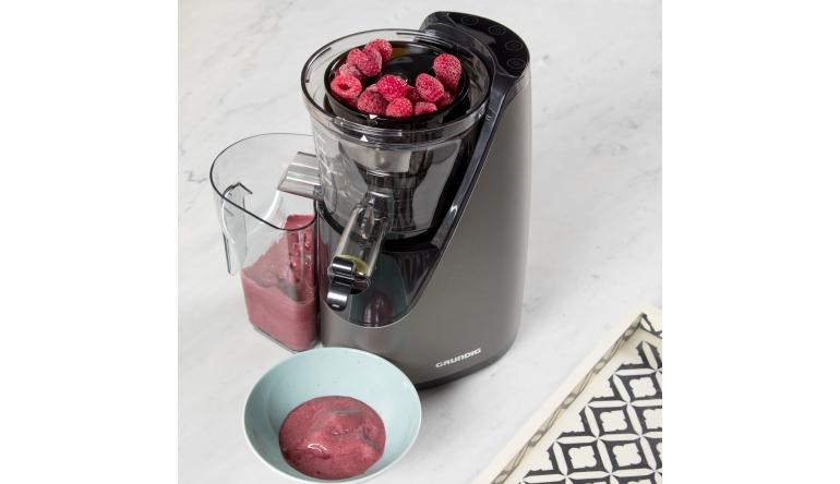 Grundig Slow Juicer Erfahrungen : Sorbets und Frozen Joghurts: Neuer Slow Juicer SJ 8640 von Grundig