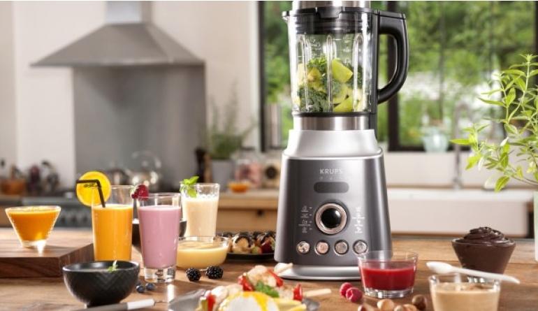 Haushaltsgeräte Kochen und Mixen mit einem Gerät: Ultrablend Cook von Krups mit 30.000 Umdrehungen - News, Bild 1