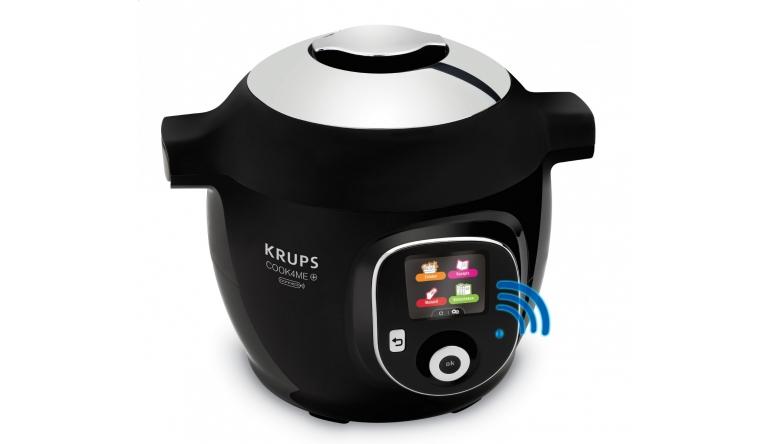 Haushaltsgeräte Multikocher Cook4Me+ Connect  von Krups ist da - Rezepte per App - News, Bild 1