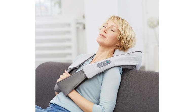 Gesundheit Zuschaltbare Wärmefunktion: Neues Shiatsu-Nackenmassagegerät von Medisana - News, Bild 1
