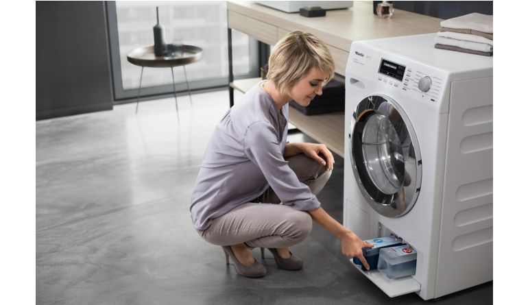 waschen und trocknen in weniger als drei stunden miele stellt den wt1 vor. Black Bedroom Furniture Sets. Home Design Ideas
