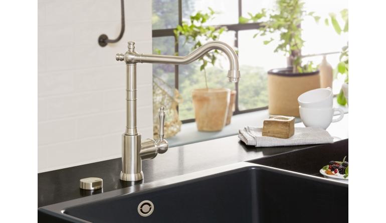 Produktvorstellung Villeroy & Boch will mit neuem Spülstein in der Küche Akzente setzen - News, Bild 1