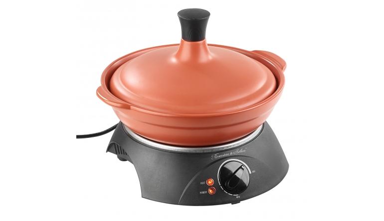 Haushaltsgeräte Für marokkanische Köstlichkeiten: Kochgeschirr aus Ton von Rosenstein & Söhne  - News, Bild 1