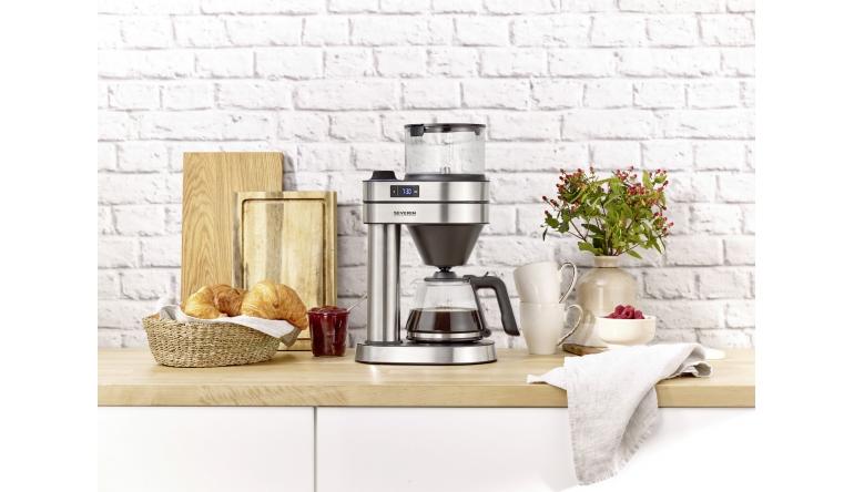 Haushaltsgeräte Beim Brühen zuschauen: Neue Filterkaffeemaschine Caprice von Severin - News, Bild 1