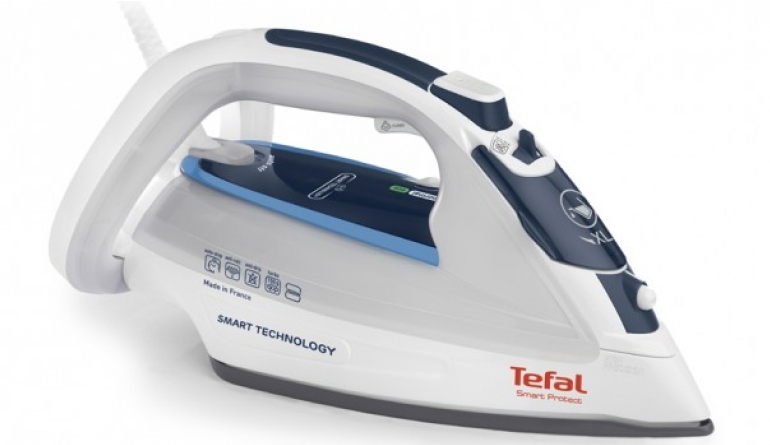 Haushaltsgeräte Tefal-Dampfbügeleisen findet optimale Dampf- und Temperaturkombination alleine - News, Bild 1
