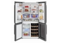 Side By Side Kühlschrank Bestenliste : Side by side kühlschrank von grundig mit weinkühler und wasserspender
