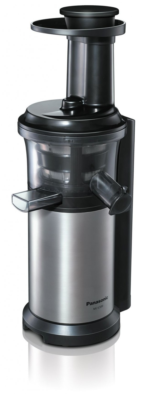 Panasonic Slow Juicer Eis : Test Entsafter - Panasonic Slow Juicer MJ-L500