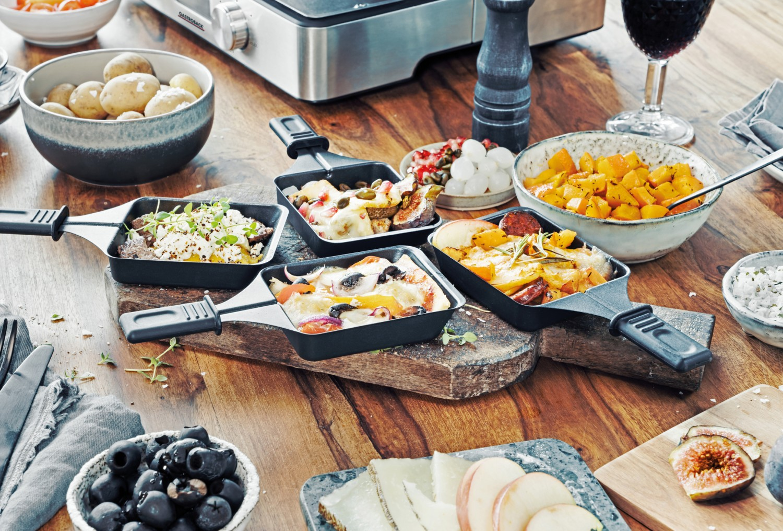 Raclette-Grill gastroback Design Raclette- Fondue Advanced Plus im Test, Bild 4