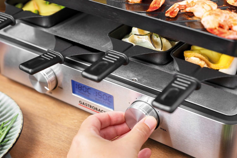Raclette-Grill gastroback Design Raclette- Fondue Advanced Plus im Test, Bild 5