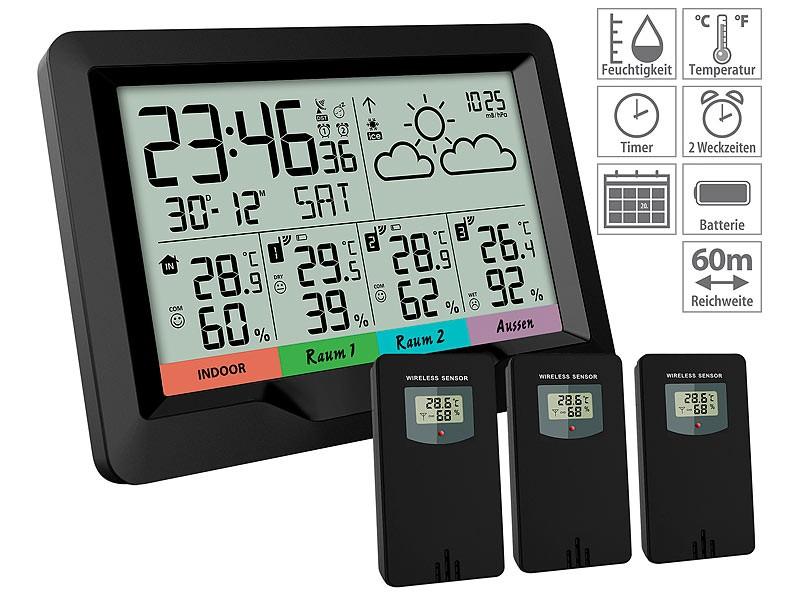Sonstiges Haustechnik infactory Funk-Wetterstation FWS-400 im Test, Bild 6