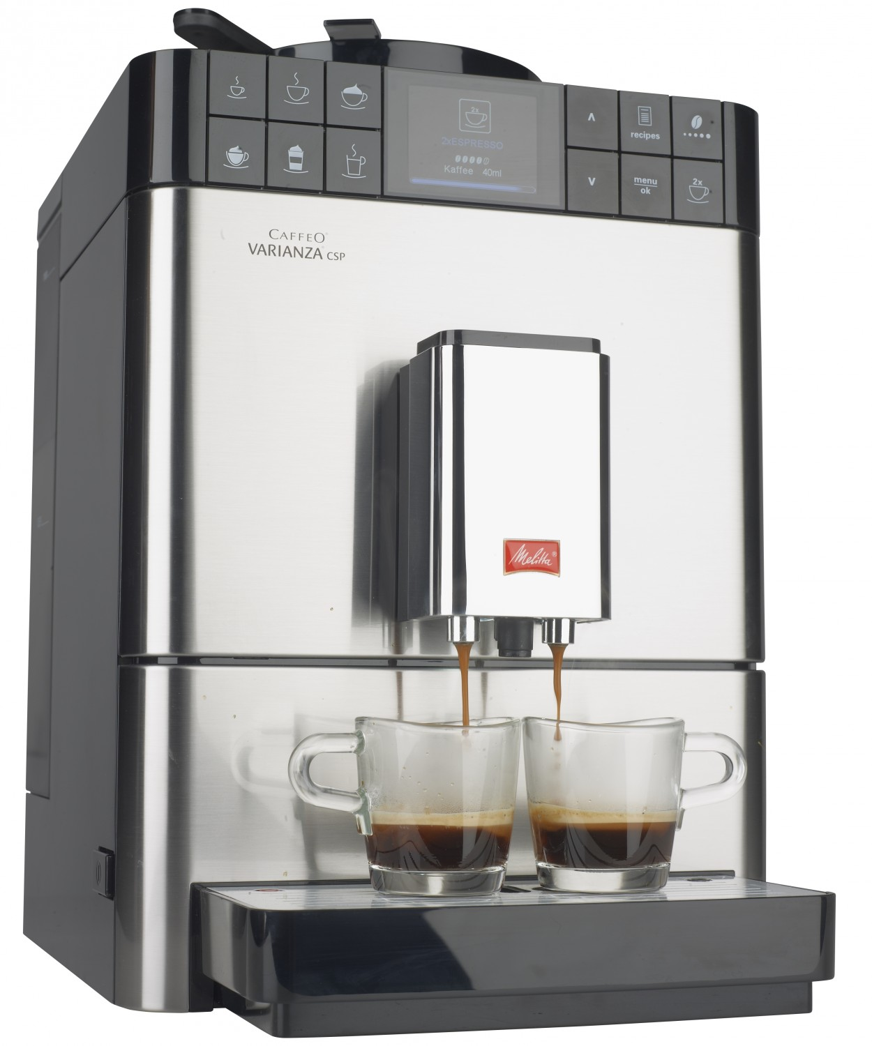 test kaffeevollautomat melitta caffeo varianza csp. Black Bedroom Furniture Sets. Home Design Ideas