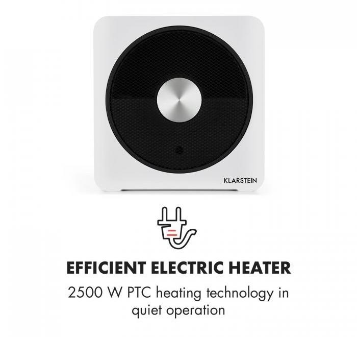 test klimager te klarstein heatpal bloxx elektrische. Black Bedroom Furniture Sets. Home Design Ideas