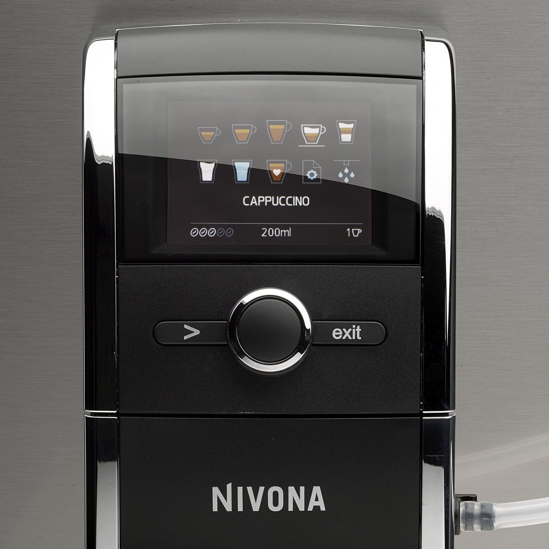 test kaffeevollautomat nivona caferomatica 858 sehr. Black Bedroom Furniture Sets. Home Design Ideas