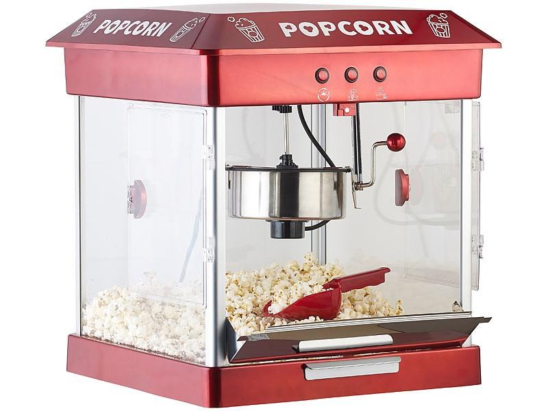 Sonstige Küchengeräte Rosenstein und Söhne Profi-Gastro-Popcorn-Maschine im Test, Bild 2