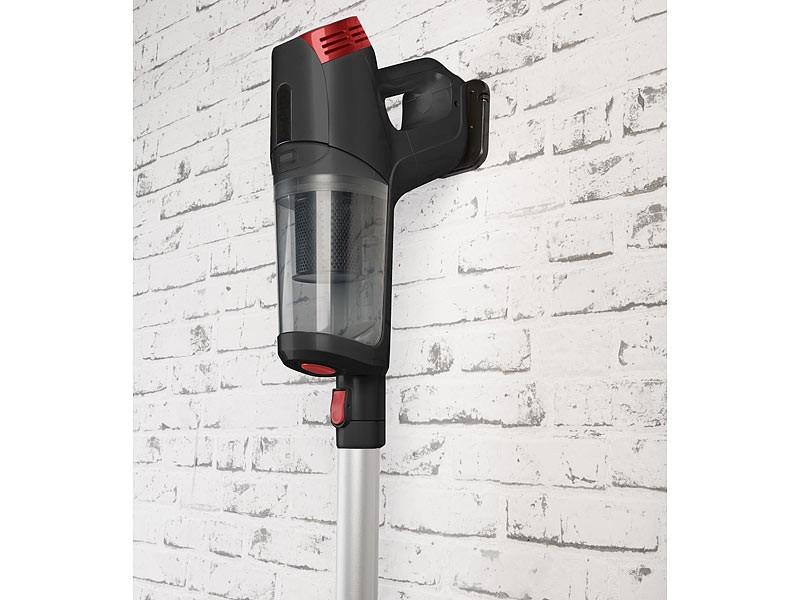 Staubsauger Sichler 3in1-Zyklon-Hand- & Bodensauger mit Wisch-Aufsatz BHS-580.ak im Test, Bild 9