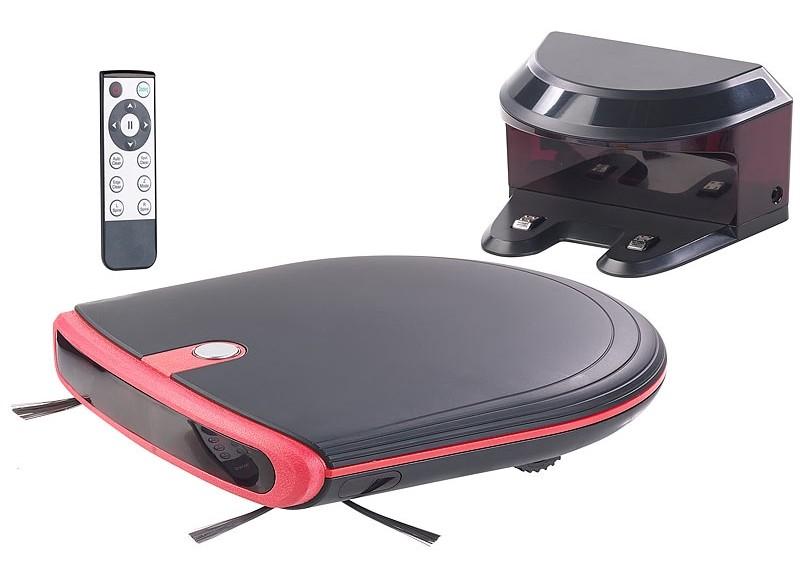 Staubsauger Roboter Sichler Ultraflacher Reinigungs- und Staubsauger-Roboter im Test, Bild 3