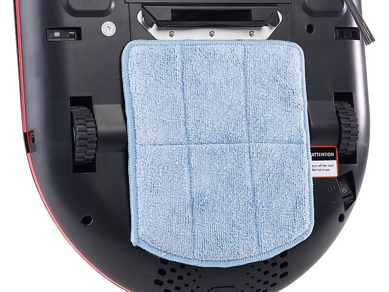 Staubsauger Roboter Sichler Ultraflacher Reinigungs- und Staubsauger-Roboter im Test, Bild 9