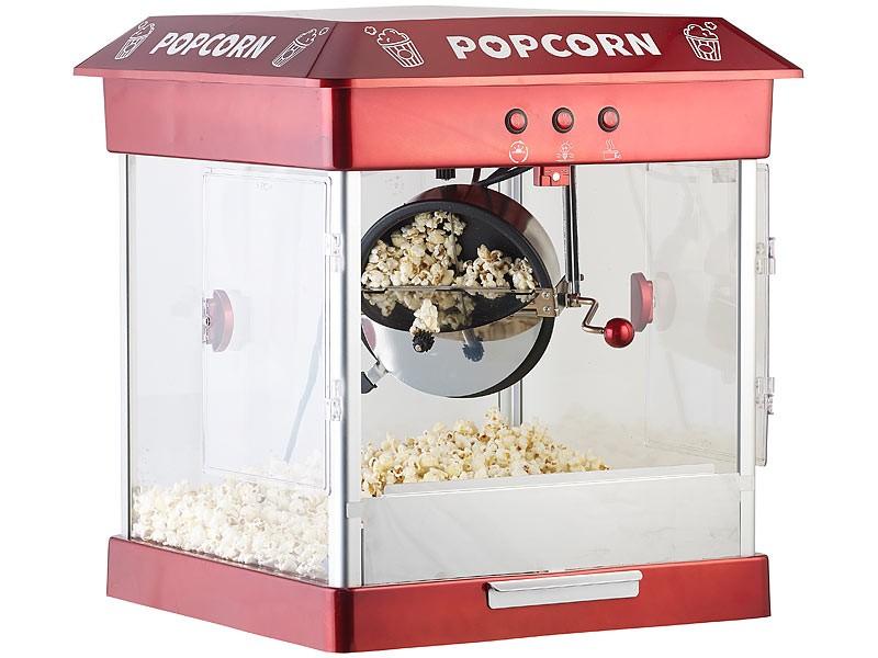 Sonstige Küchengeräte Rosenstein und Söhne Profi-Gastro-Popcorn-Maschine im Test, Bild 1