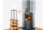 Luftbehandlung Carlo Milano Stromloser Kaminofen-Ventilator im Test, Bild 1