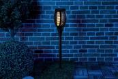 Beleuchtung LUNARTEC 2er-Set LED-Solar-Gartenfacken NX-6370 im Test, Bild 1