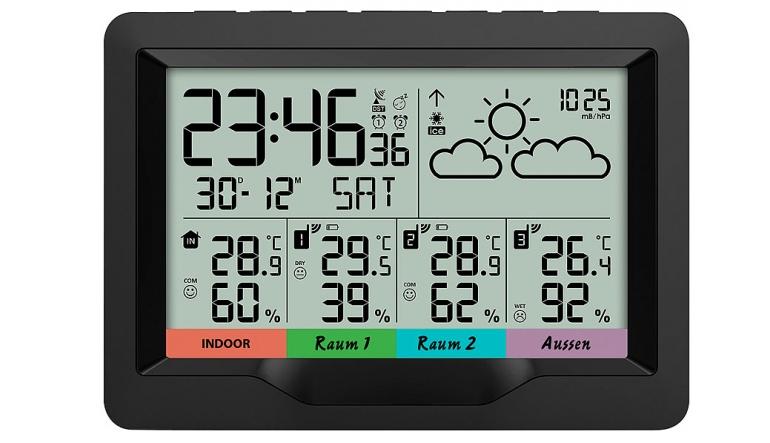 Sonstiges Haustechnik infactory Funk-Wetterstation FWS-400 im Test, Bild 1