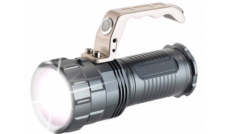 Sonstiges Haustechnik KryoLights Akku-LED-Handlampe TRC-410 CREE LED, 550lm, 10W, IP44 im Test, Bild 1