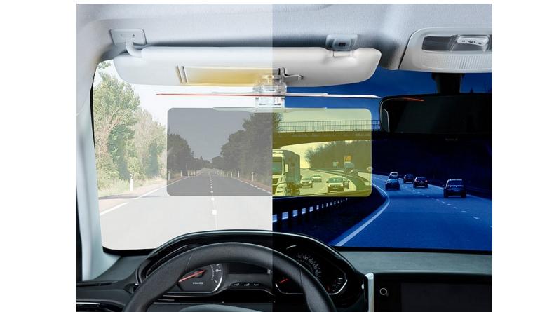 Universal-Blendschutz Lescars Universal-Blendschutz für Sonnenblende im Test, Bild 1