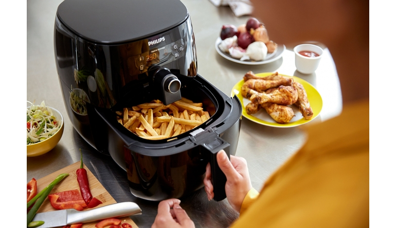 test fritteuse philips airfryer avance turbostar hd9640. Black Bedroom Furniture Sets. Home Design Ideas
