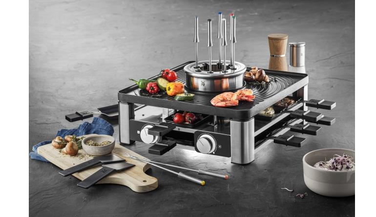 Raclette-Grill WMF Gourmet Station 3-in-1 im Test, Bild 1
