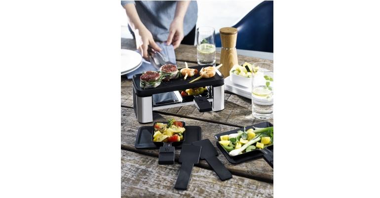 Raclette-Grill WMF Raclette für 2 im Test, Bild 1