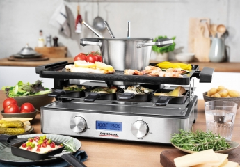Raclette-Grill gastroback Design Raclette- Fondue Advanced Plus im Test, Bild 1
