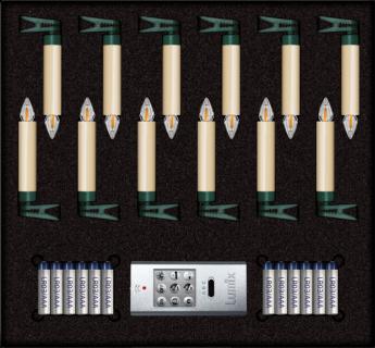 Beleuchtung Lumix SuperLight Flame, Krinner Green Line M im Test , Bild 1