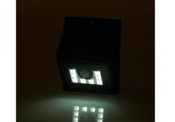 Beleuchtung LUNARTEC Solar-LED-Wandleuchte im Test, Bild 1
