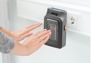 Klimageräte Sichler Mini-Steckdosen Heizlüfter im Test, Bild 1