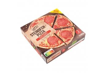 Tiefkühl-Pizza Trattoria Alfredo Steinofen-Pizza Salami (Lidl) im Test, Bild 1